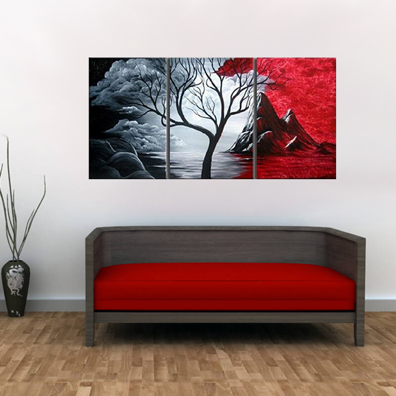 Canvas wall art decision
